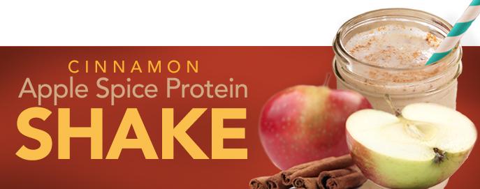 Cinnamon Apple Spice Protein Shake