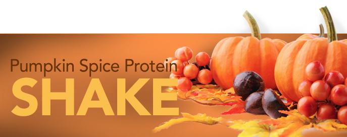 Pumpkin Spiced Protein Shake