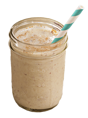 Cinnamon Apple Spice Protein Shake